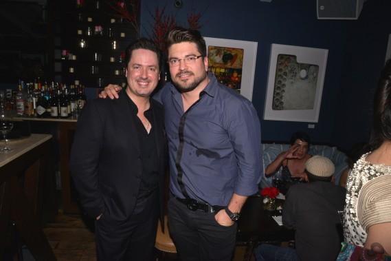 Ricardo Barroso and Dr. Sergio Alvarez