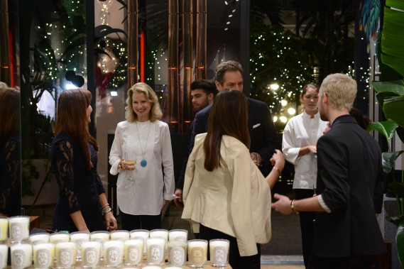 atmosphere at diptyque boutique