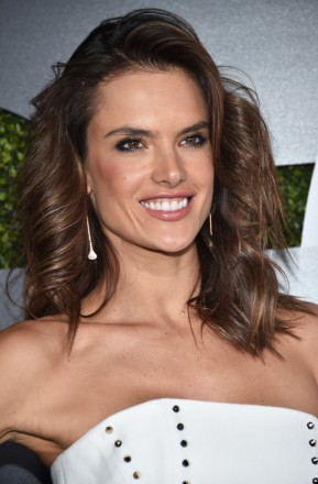 Alessandra Ambrosio wore Doves by Doron Paloma diamond earrings and a diamond Butani bracelet to the GQ And Dior Homme Private Dinner In Celebration Of GQ's 20th Anniversary Men Of The Year Party at Chateau Marmont Hotel on December 3, 2015 in West Hollywood, California.