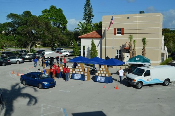 "MISSION UNITED DISTRIBUTED MORE THAN 175 TURKEYS TO BROWARD COUNTY MILITARY VETERANS DURING ""OPERATION TURKEY DINNER"""