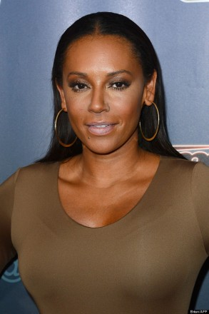 "Mel B attending the ""Americas Got Talent"" Radio City Post Show at the Radio City Music Hall"