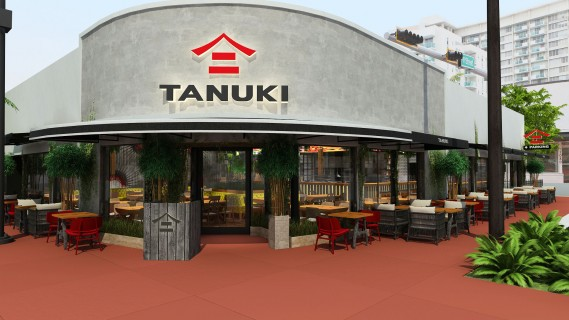 Tanuki, the international Pan-Asian concept