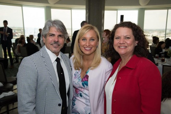 Emilio Benitez, President/CEO of ChildNet; Lauren Book, Founder and CEO of Lauren's Kids and Monica King, Executive Director of ChildNet Broward County