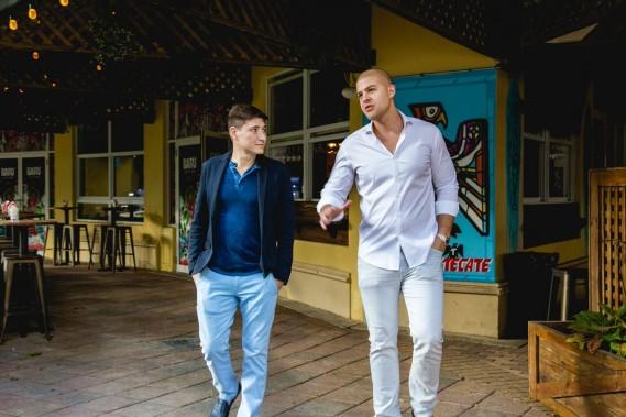 Hector Antunez, Owner of Baru Latin Bar, and Brian Mejia, Owner of Tu Candela Bar