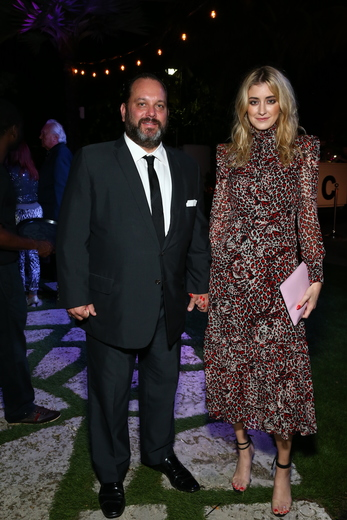 Andrew Heiberger CEO of Town Residential and Haily Lankau attend the DuJour Media, Gilt & JetSmarter party to kick off Art Basel at The Confidante on November 30, 2016 in Miami Beach, Florida. (Photo by Astrid Stawiarz/Getty Images for DuJour)
