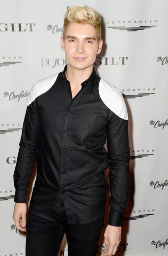 Singer Christian Acosta attends the DuJour Media, Gilt & JetSmarter party to kick off Art Basel at The Confidante on November 30, 2016 in Miami Beach, Florida. (Photo by Gustavo Caballero/Getty Images for DuJour)