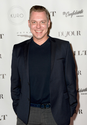 David Pulley attends the DuJour Media, Gilt & JetSmarter party to kick off Art Basel at The Confidante on November 30, 2016 in Miami Beach, Florida. (Photo by Gustavo Caballero/Getty Images for DuJour)