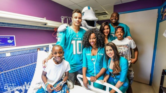(L-R) Kenny, Jess, Stephanie, Britt and Laremy at Baptist Childrens Hospital