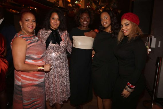 Rosie Gordon-Wallace, Jessica Sirmans, Bahia Ramos, Lasharah Bunting, & Amaris Jones