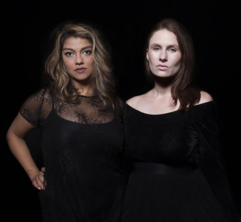 Above: Jasmine Wahi and Rebecca Pauline Jampol. Photo Courtesy of Ventiko.