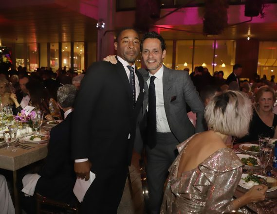 Franklin Sirmans & Marc Anthony - Photo Getty Images
