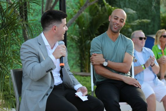 Miami Open Tournament Director James Blake Participates in OUT at the Open Q&A