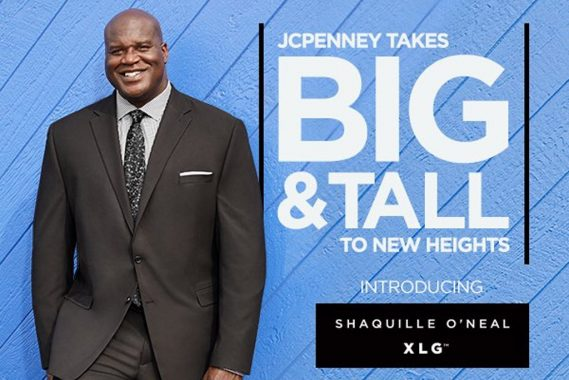 Wilhelmina Models and JCPenney Team Up To Launch Shaquille O
