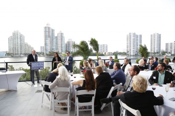 Michael Neumann presents Privé to the Master Brokers Forum