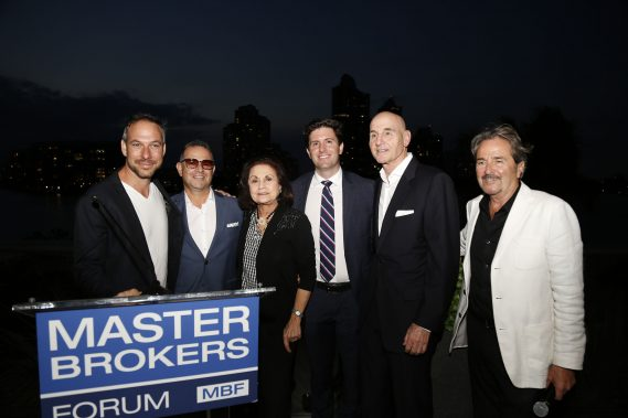 Tony Cho, Jeff Morr, Donna Bloom, Michael Bruno, Michael Neumann and Ralph De Martino