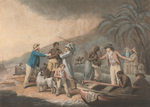 Slave Trade  Original Author: George Morland, artist; John Raphael Smith, engraver  Created: 1792  Courtesy: Yale Center for British Art, Paul Mellon Collection