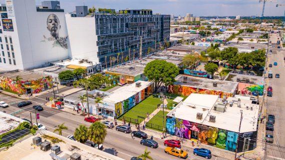 Wynwood, Miami, Fl. (image courtesy of Metro1)