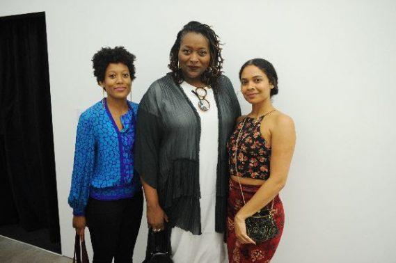 Jamilah Sabur, Deborah Jack, and Keisha Rae Witherspoon