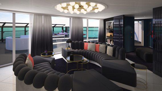 RockStar Suite on Virgin Voyages' Scarlet Lady