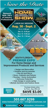 Miami Wynwood Home Design And Remodeling Show Premier