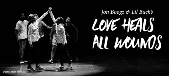 Love Heals All Wounds featuring Jon Boogz and Lil Buck