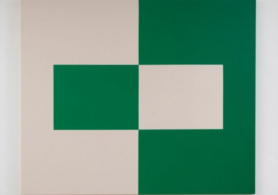 Carmen Herrera. Alba, 2014. Collection Pérez Art Museum Miami, museum purchase with funds provided by PAMM's Collectors Council. © Carmen Herrera. Image courtesy Lisson Gallery.