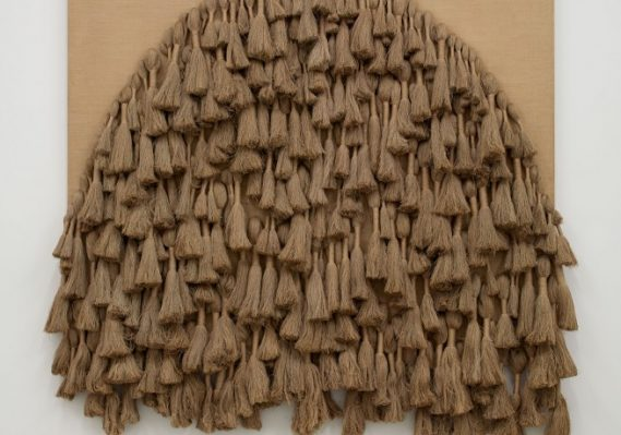 Sheila Hicks. Tapestry, 1977. Collection Pérez Art Museum Miami, museum purchase with funds provided by PAMM's Collectors Council. Image courtesy Sikemma Jenkins & Co., New York