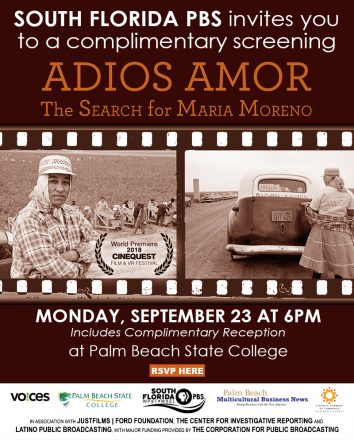 Adios Amor, The Search For Maria Moreno