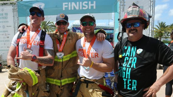 DCC 5K with fire fighters