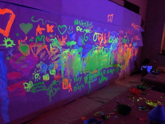 Miami Children's Museum Glow Party