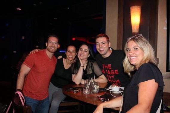 Jeff Borham, Audrey Williams, Yara Domiati, Mate Granic and Heather Edwards