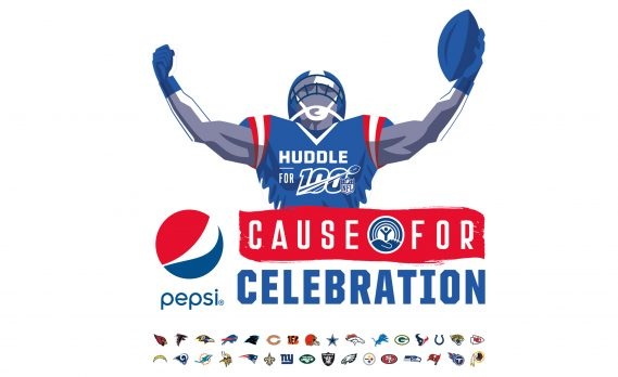 Pepsi Cause for Celebration Program With United Way and NFL