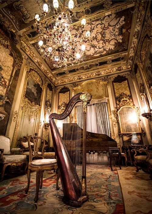 The Music Room, Vizcaya Museum and Gardens