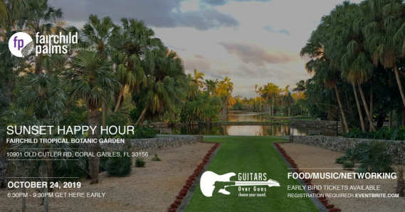 Fairchild Palms Young Professionals Happy Hour at the Garden