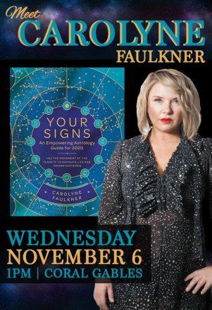 Meet astrologer, Carolyne Faulkner