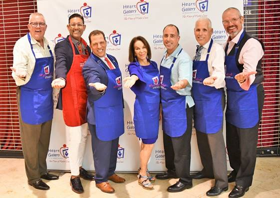 Celebrity guest servers: Robert Boo, David Diaz, Justin Nepola, Ina Lee,  Joe Feinberg, Mark Corbett and Heiko Dobrikow.
