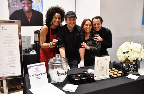 Traci Cloyd and The Mermaid Bar at Neiman Marcus team
