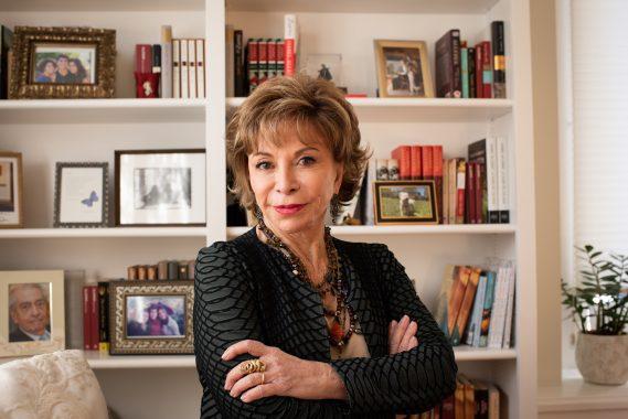 Isabel Allende - Photo by Lori Barra
