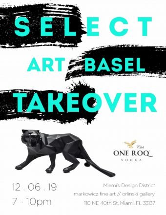 Art Basel Takeover party with SELECT