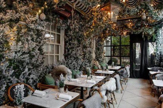 Dalloway Terrace Unveils its Winter Wonderland