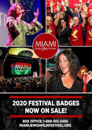 Miami Jewish Film Festival 2020 Premier Badges are now on sale