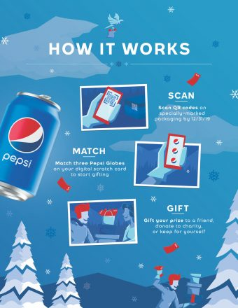 Gift it Forward with Pepsi