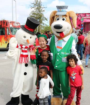 Tri-Rail's Winter Wonderland is free family fun with lots of holiday activities