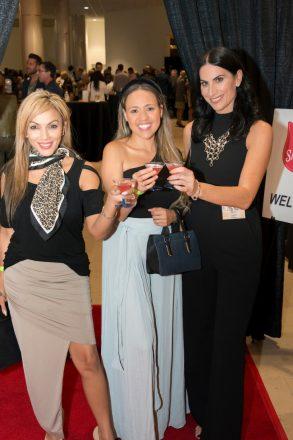 Amreen De Hall, Diana Campo and Alena Capra