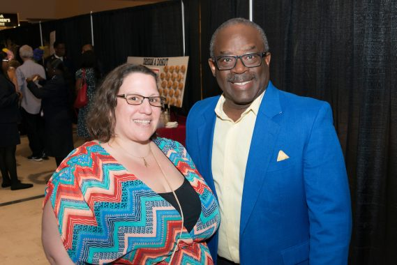 April Kirk and George Gadson