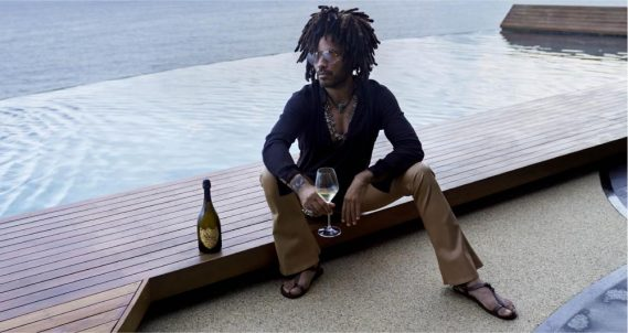 LENNY KRAVITZ DESIGNS THREE DESIGN PIECES FOR DOM PÉRIGNON