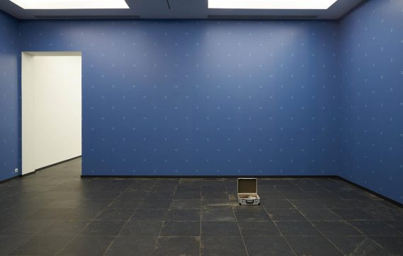 Installation view of Zac Langdon-Pole at 'Ars-Viva-2018', in Ghent Photography: Dirk Pauwels