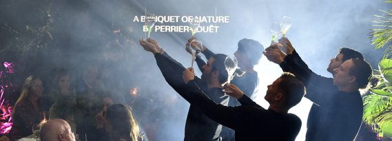 """A Banquet of Nature by Perrier-Jouët"" revealed in Miami: for reconnecting with nature and one another."