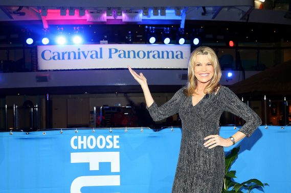 Carnival Panorama Officially Named By Wheel Of Fortune's Vanna White
