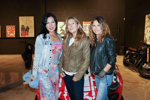 Elena Ivanovo, Simone Doer, & Roxana Matticoli